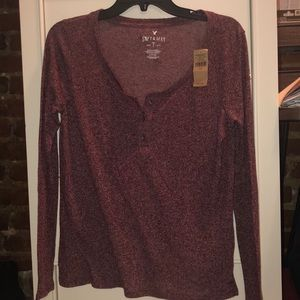 Speckled long sleeve